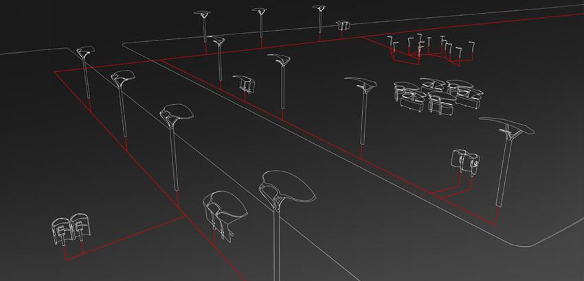 iluminación urbana inteligente