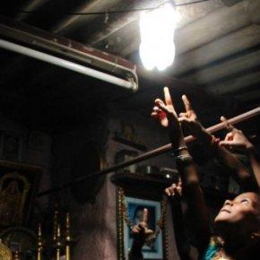 Luminarias sostenibles y solidarias