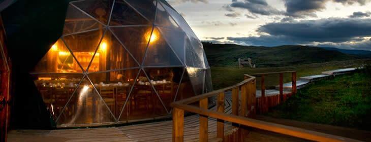 Imagen: Ecocamp Patagonia